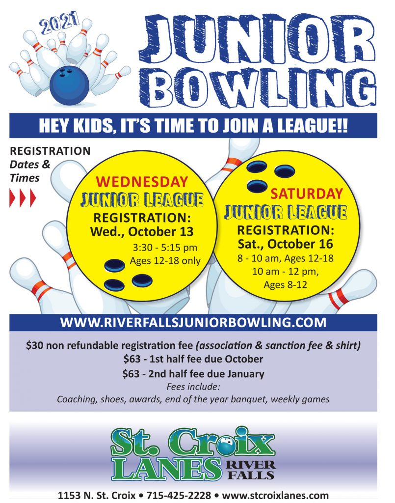 youth bowling flyer